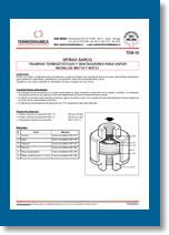 TD8-10 Trampa termostática venteador mst18 y mst21