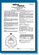Trampa termostática para vapor en Acero MST21
