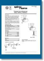 Trampas termodinámicas TD52 - TDS52 - TDS52LC